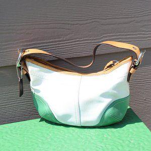 canvas Coach purse